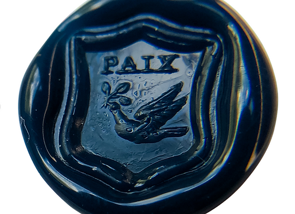 "Dove with ""Paix"" (9 Seals)"