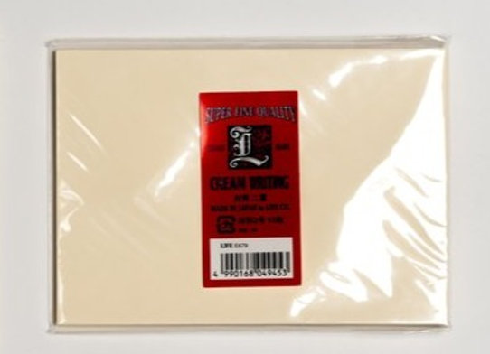 """Envelopes for Life brand letter pad A5(6""""X8""""), """"cream writing"""""""