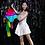 Thumbnail: Rainbow Silk Fountain Streamer by Yan Yan Ma