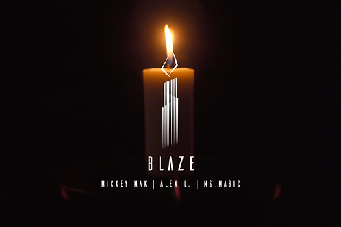 BLAZE The Auto Candle by Mickey Mak & MS Magic