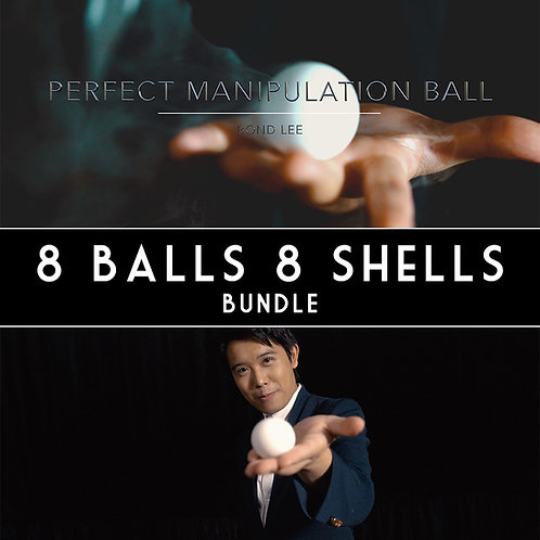 8 Balls 8 Shells Bundle