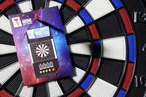 Mini Dart Board by Magiclism