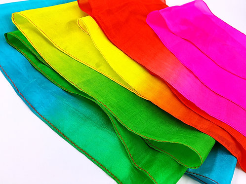 Silk Streamer (Rainbow, 5m x 15cm)