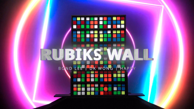 Rubik's Wall by MS Magic