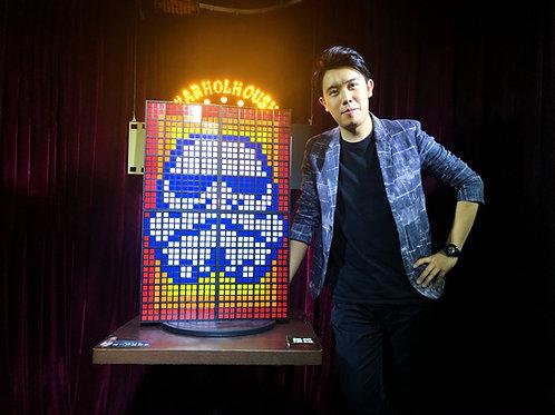Rubik's Wall Gimmick & Sticker Add-On