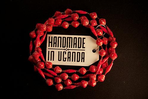 Handmade Ugandan Necklace (AA004)