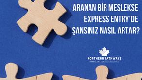 Mesleğiniz Kanada'da Aranan Bir Meslekse Express Entry'de Şansınız Nasıl Artar?
