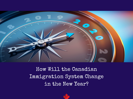 How Will the Canadian Immigration System Change in the New Year?