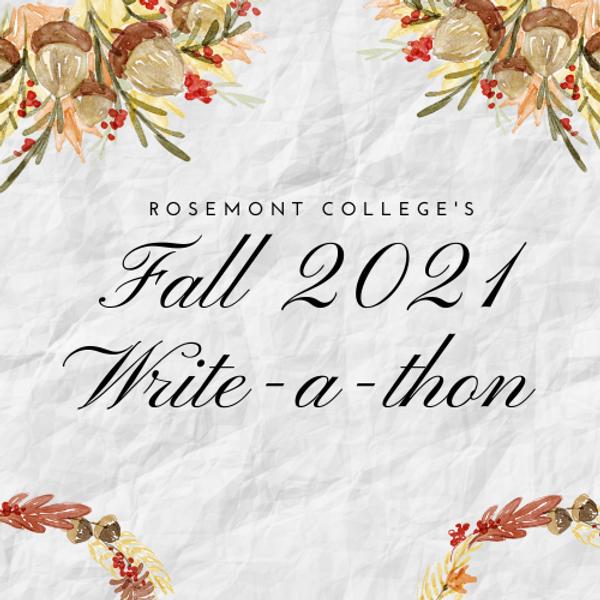 Fall Write-A-Thon