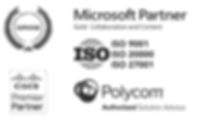 SDVOSB   ISO 90001 - 20000 -27001 - Polycom -Cisco - Microsoft