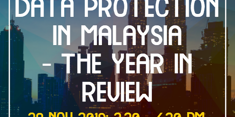 Webinar: Data Protection in Malaysia - The Year in Review
