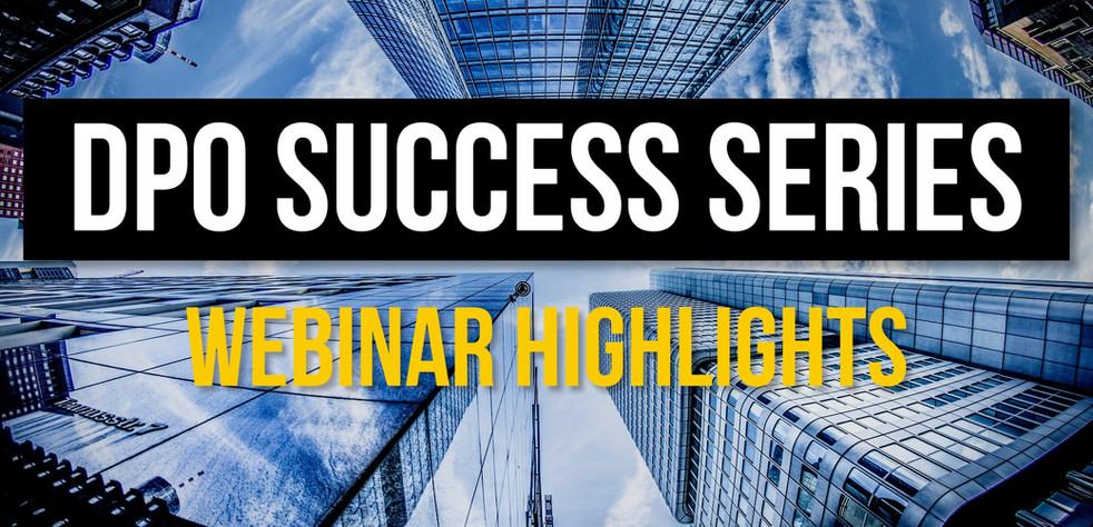 Webinar: DPO Success Series highlights
