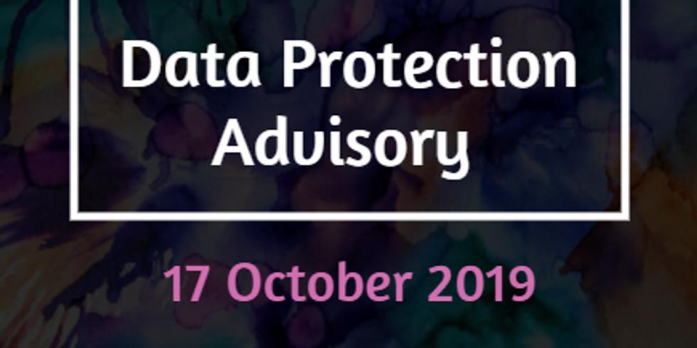 Data Protection Advisory - SRA & TAFF Members Only