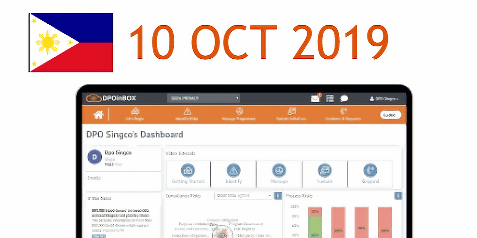 Webinar: DPOinBOX LIVE DEMO (Philippines) -  Fast Start to DPA Compliance