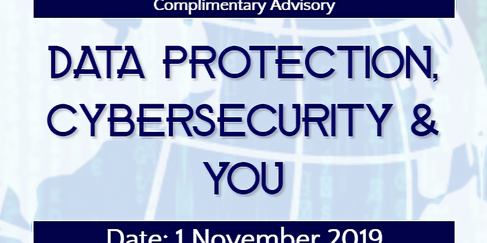 Advisory - Data Protection, Cybersecurity & You