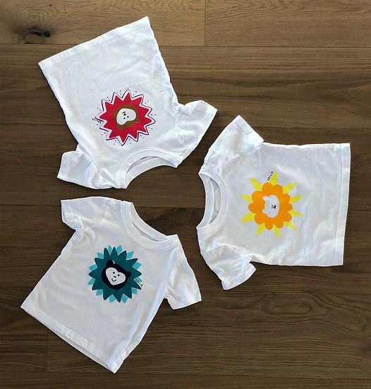 Short Sleeve Toddler 2/3 Bear T-Shirt