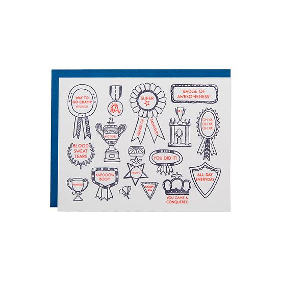 Badges of Awesomeness