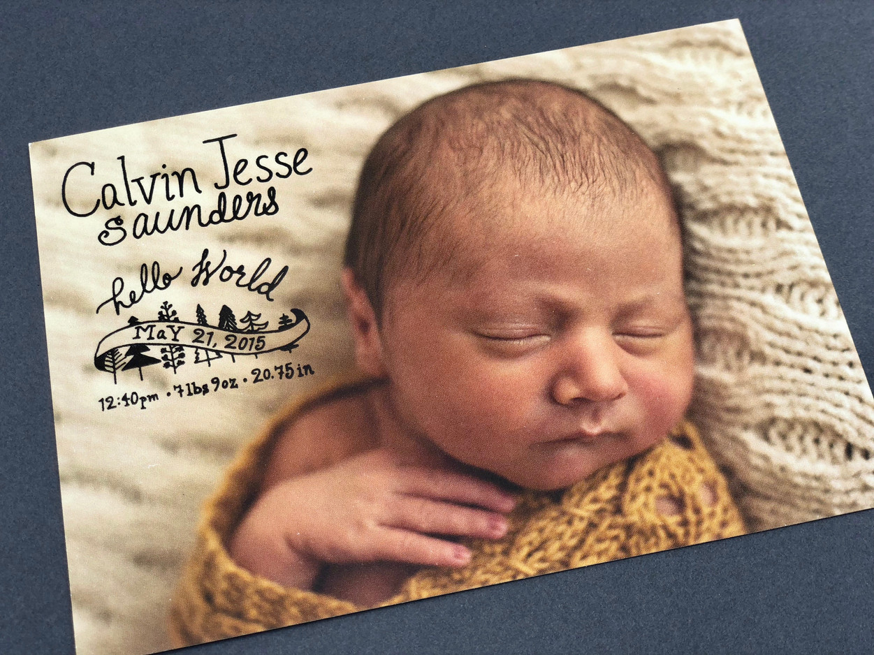 Hello World: A Newborn Baby Announcement