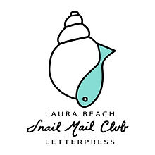 Laura Beach Letterpress Snail Mail Club