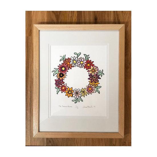 Joy - Limited Edition Woodcut Print