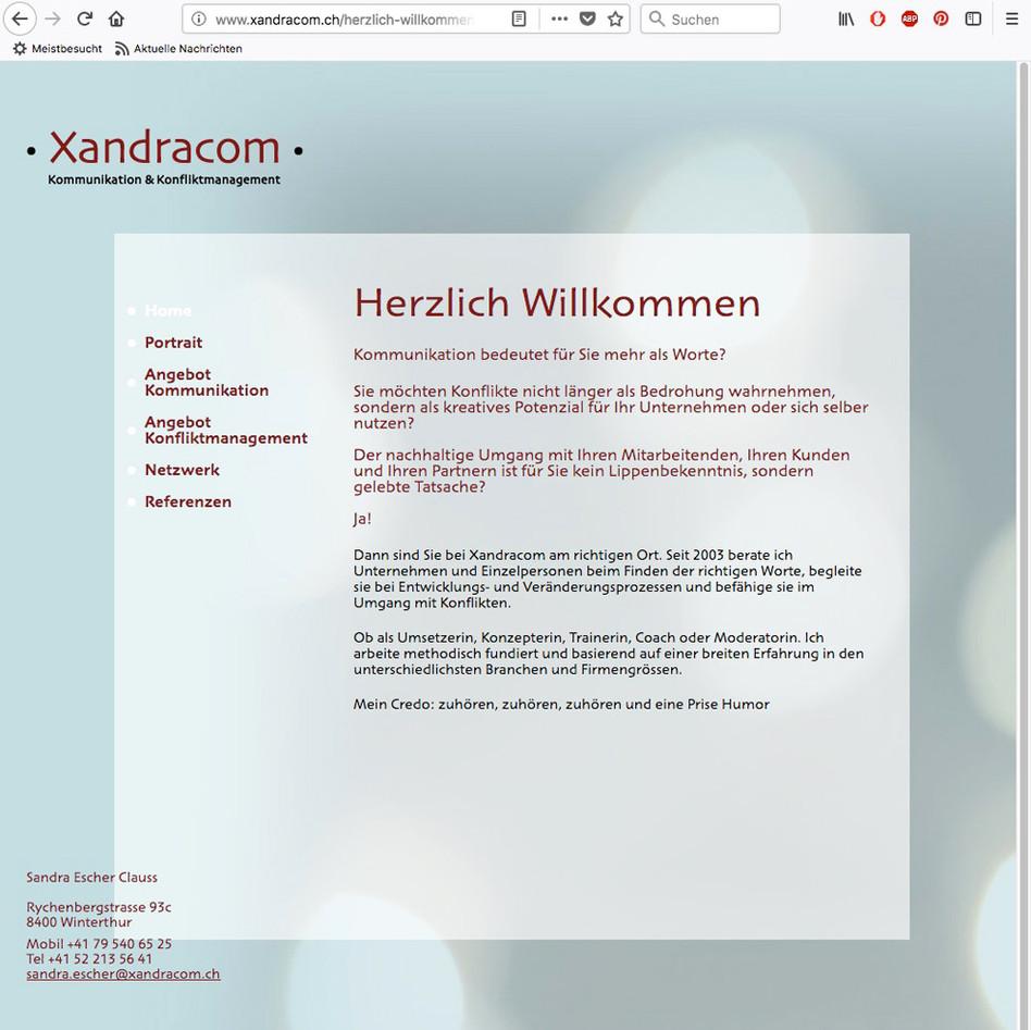 Xandracom, Kommunikation & Konfliktmanagement