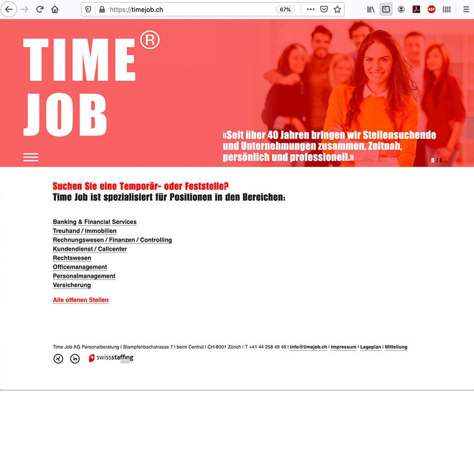 Time Job / Personalberatung
