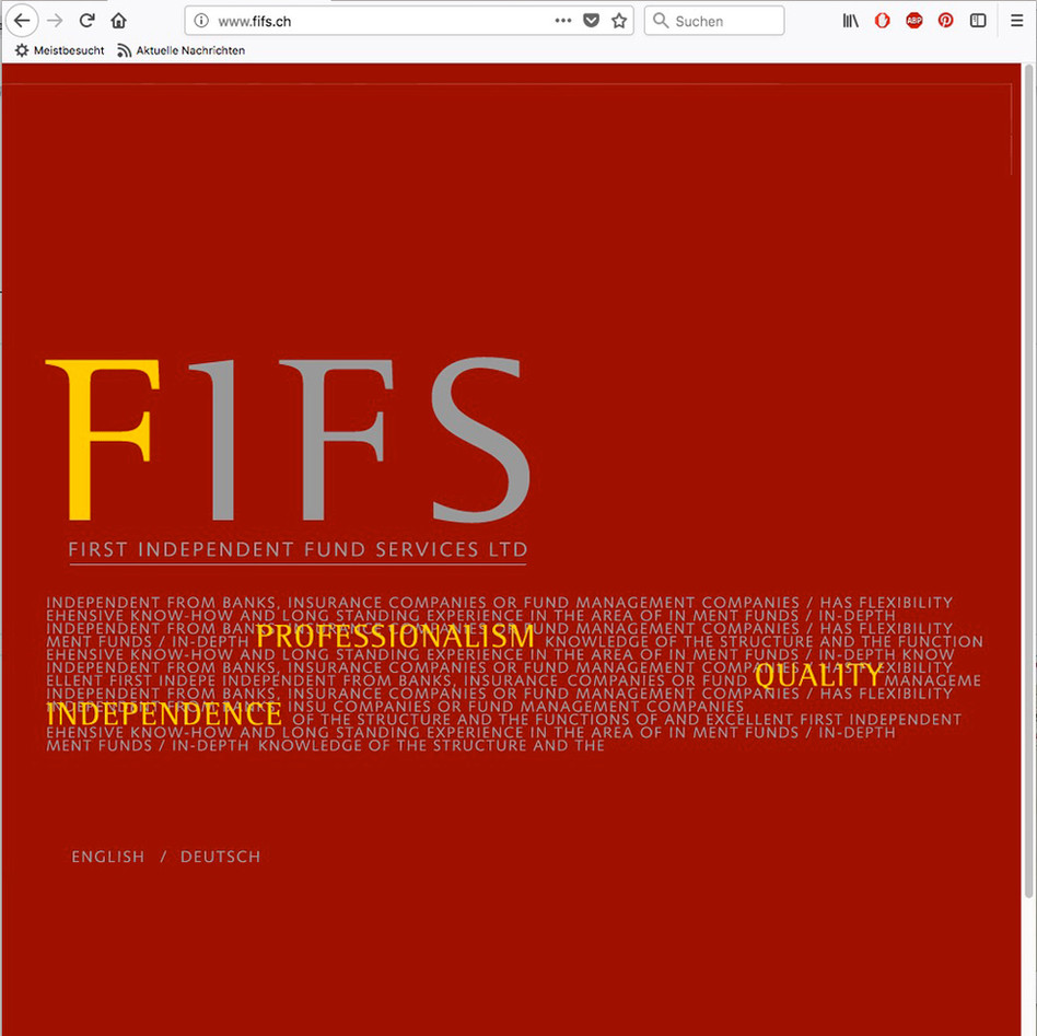 FIFS, First Independent Fund Services