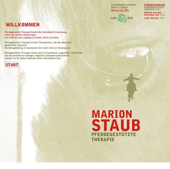 Marion Staub, Pferdegestützte Therapie