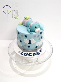 - Gâteau personnalisé anniversaire enfant - Thème Doudou