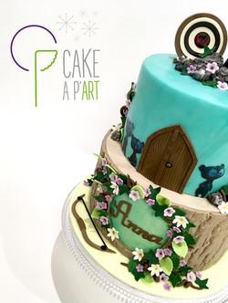 - Gâteau personnalisé anniversaire enfant - Thème Rebelle
