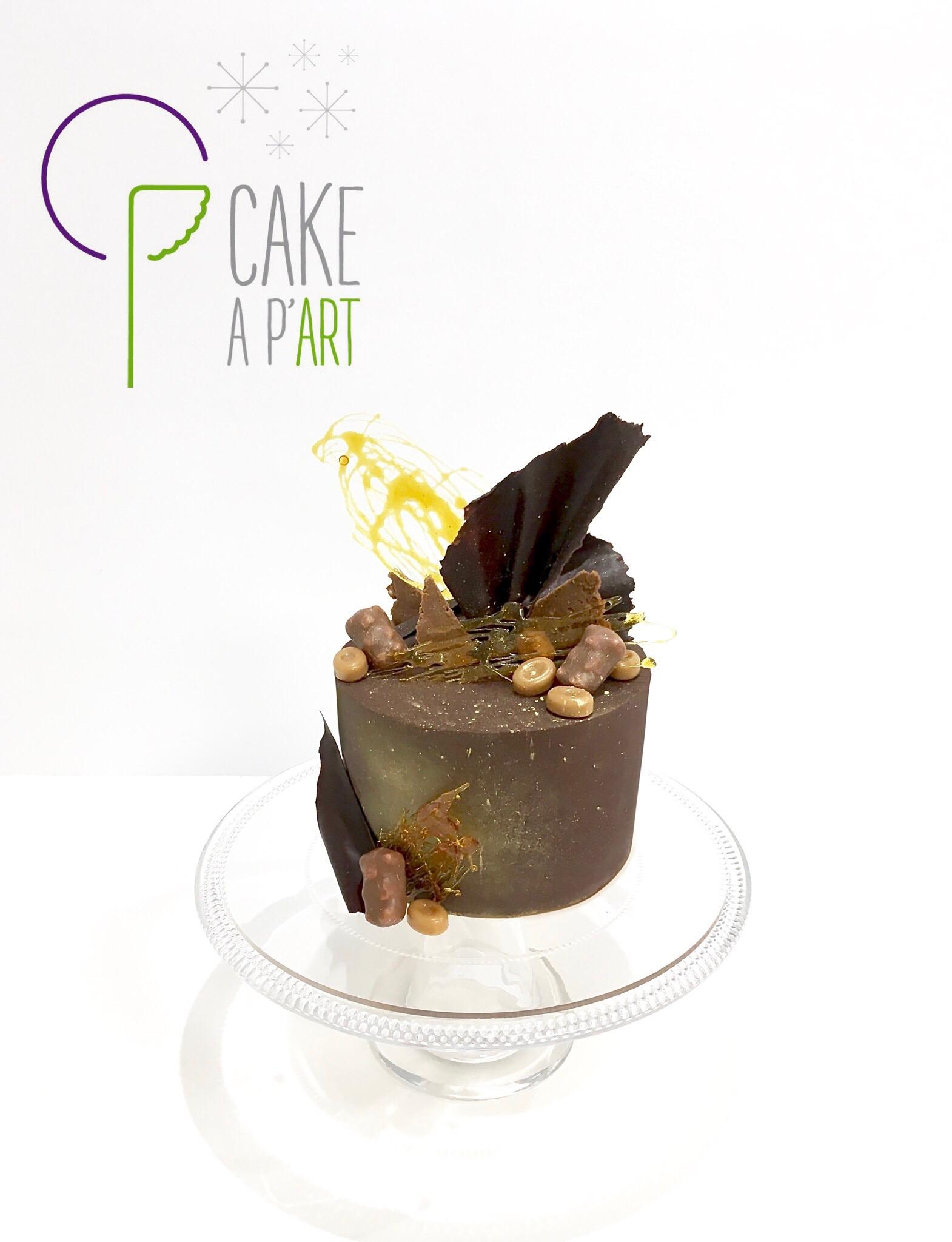 Nude Cake sur mesure anniversaire adulte - Thème Chocolat et caramel