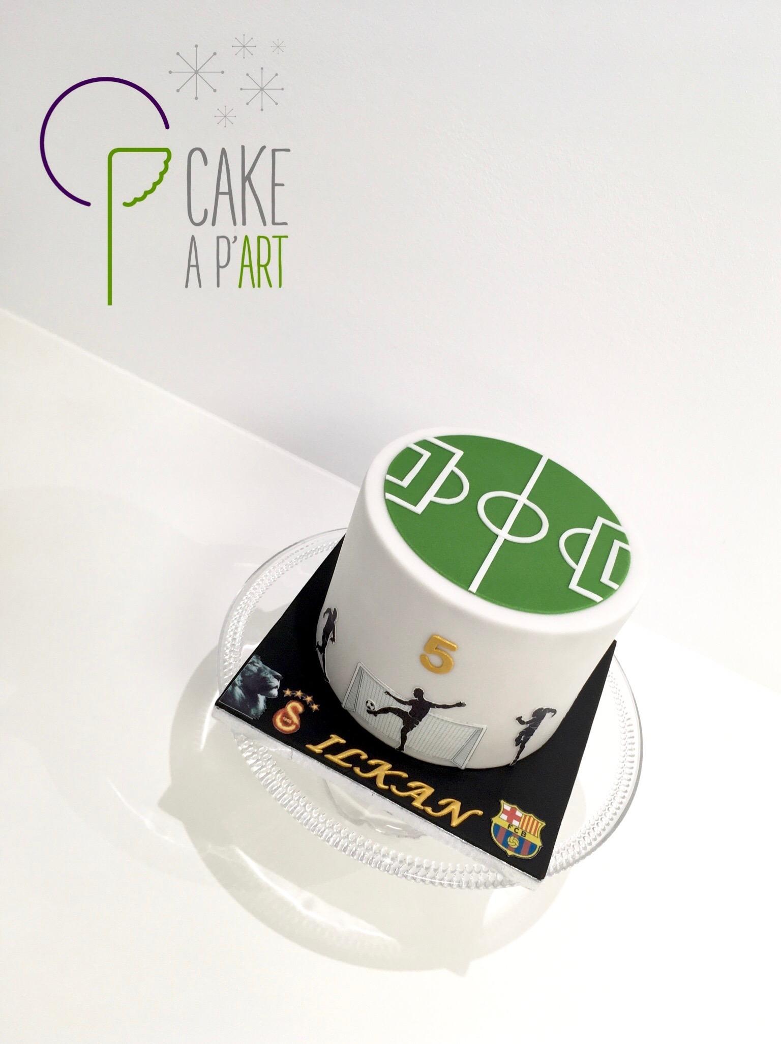 - Gâteau personnalisé anniversaire enfant - Thème Foot