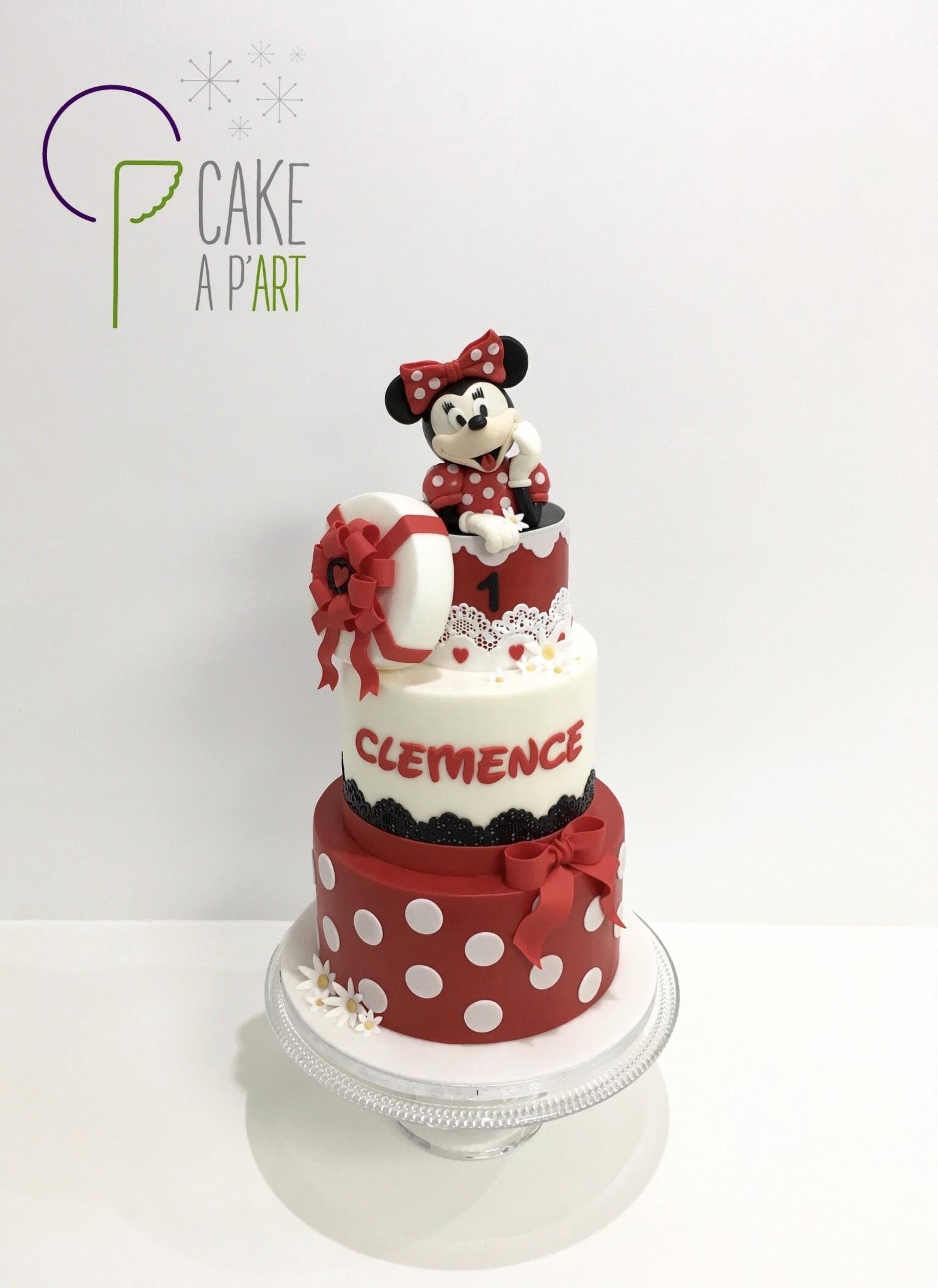 - Gâteau personnalisé anniversaire enfant - Thème Minnie