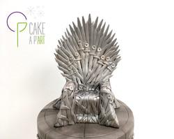 Décor modelage en sucre gâteaux personnalisés - Anniversaire Thème Game of Thrones