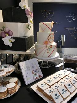 Gâteaux sur mesure Food Marketing Entreprise - Sablés personnalisés logo Evènement Agatha Perpignan