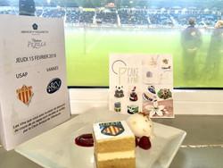 Gâteaux sur mesure Food Marketing - Bouchées personnalisées logo Evènement partenaire USAP