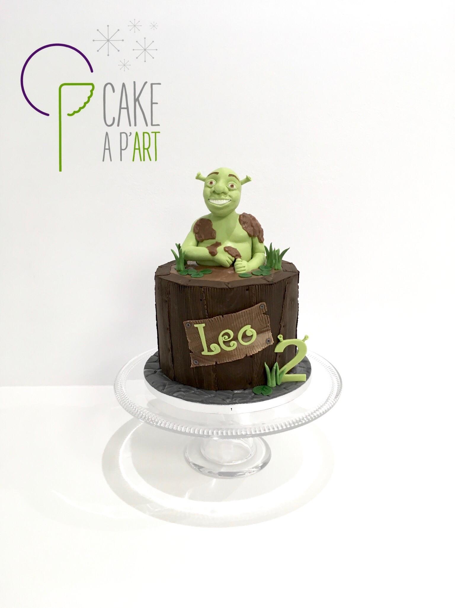 - Gâteau personnalisé anniversaire enfant - Thème Shrek