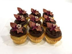 Gâteaux individuels personnalisés Anniversaire - Mini cupcakes Thème Licorne automne