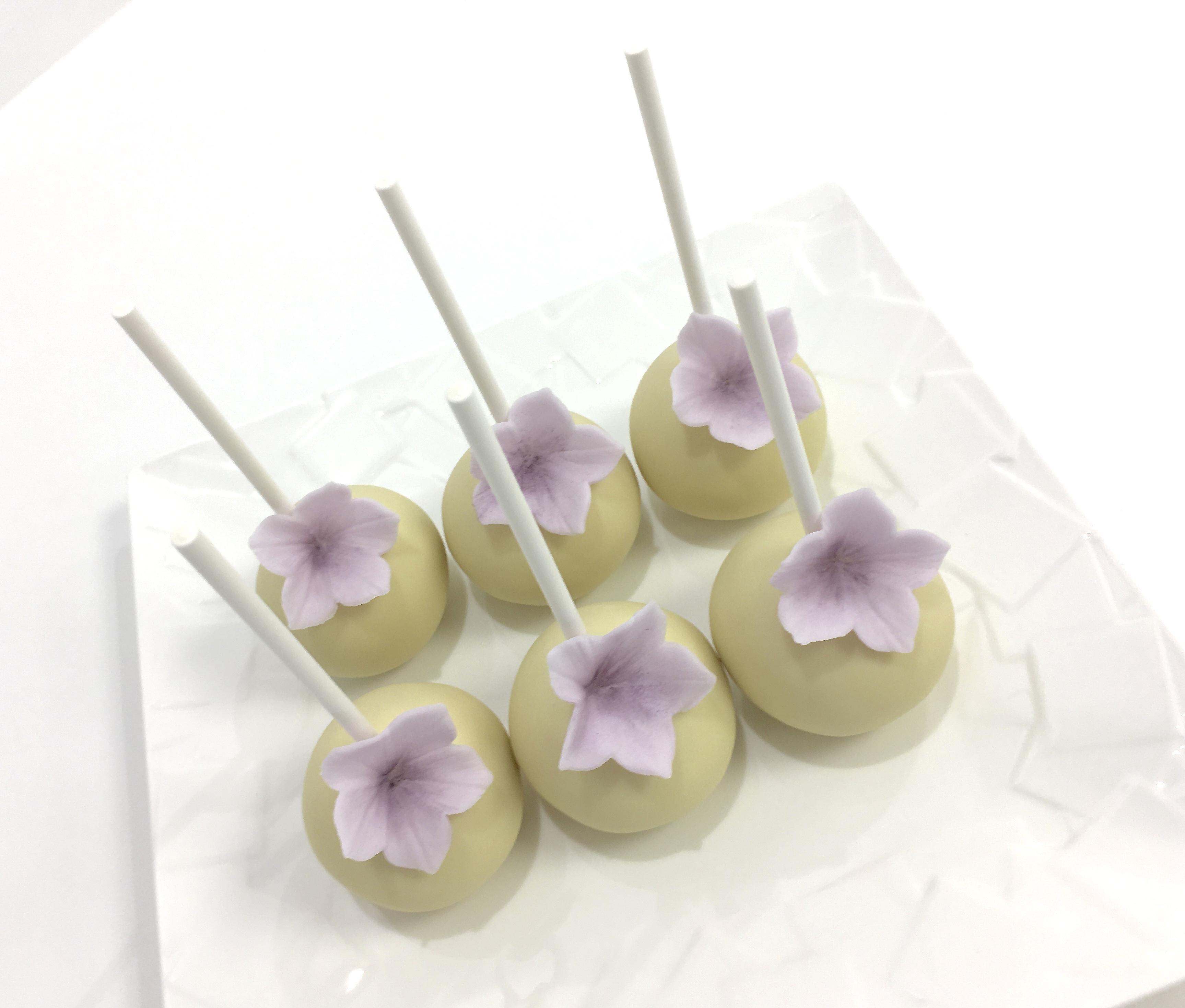 Gâteaux individuels personnalisés Mariage - Popcakes Thème Cerisier