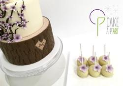 Wedding Cake Thème Fleurs de cerisier