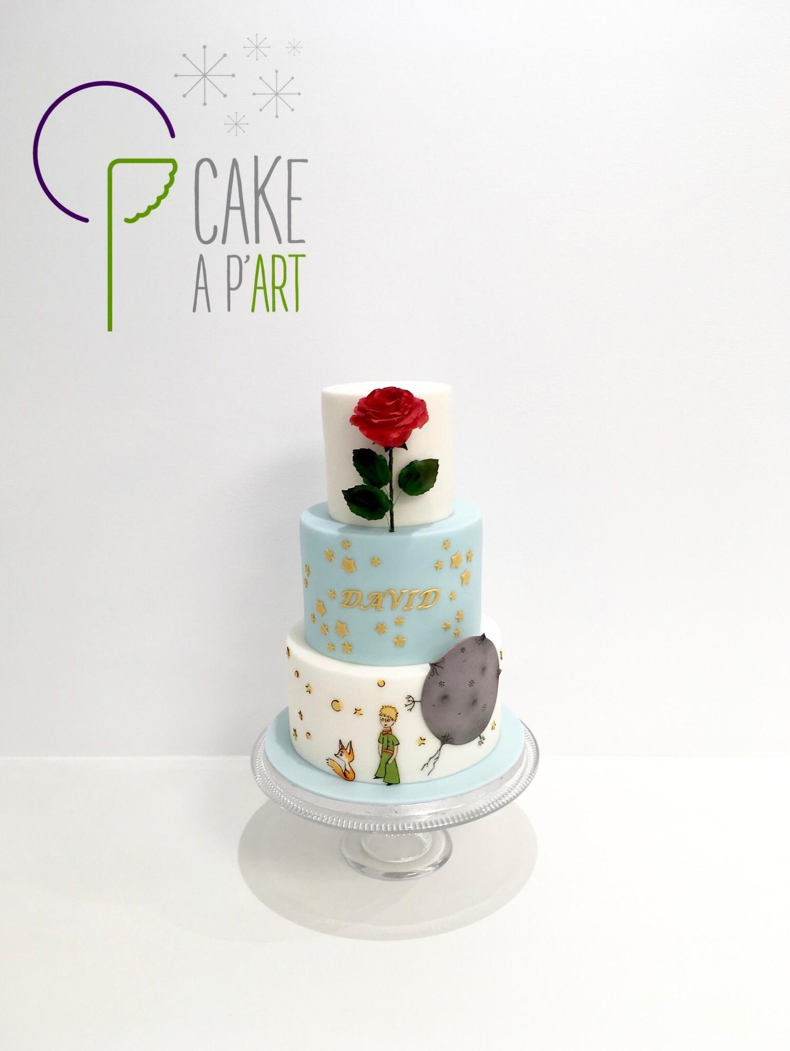 - Gâteau personnalisé anniversaire enfant - Thème Le petit prince