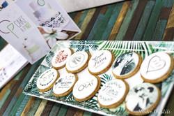 Gâteaux individuels personnalisés Mariage - Sablés décorés Impression alimentaire