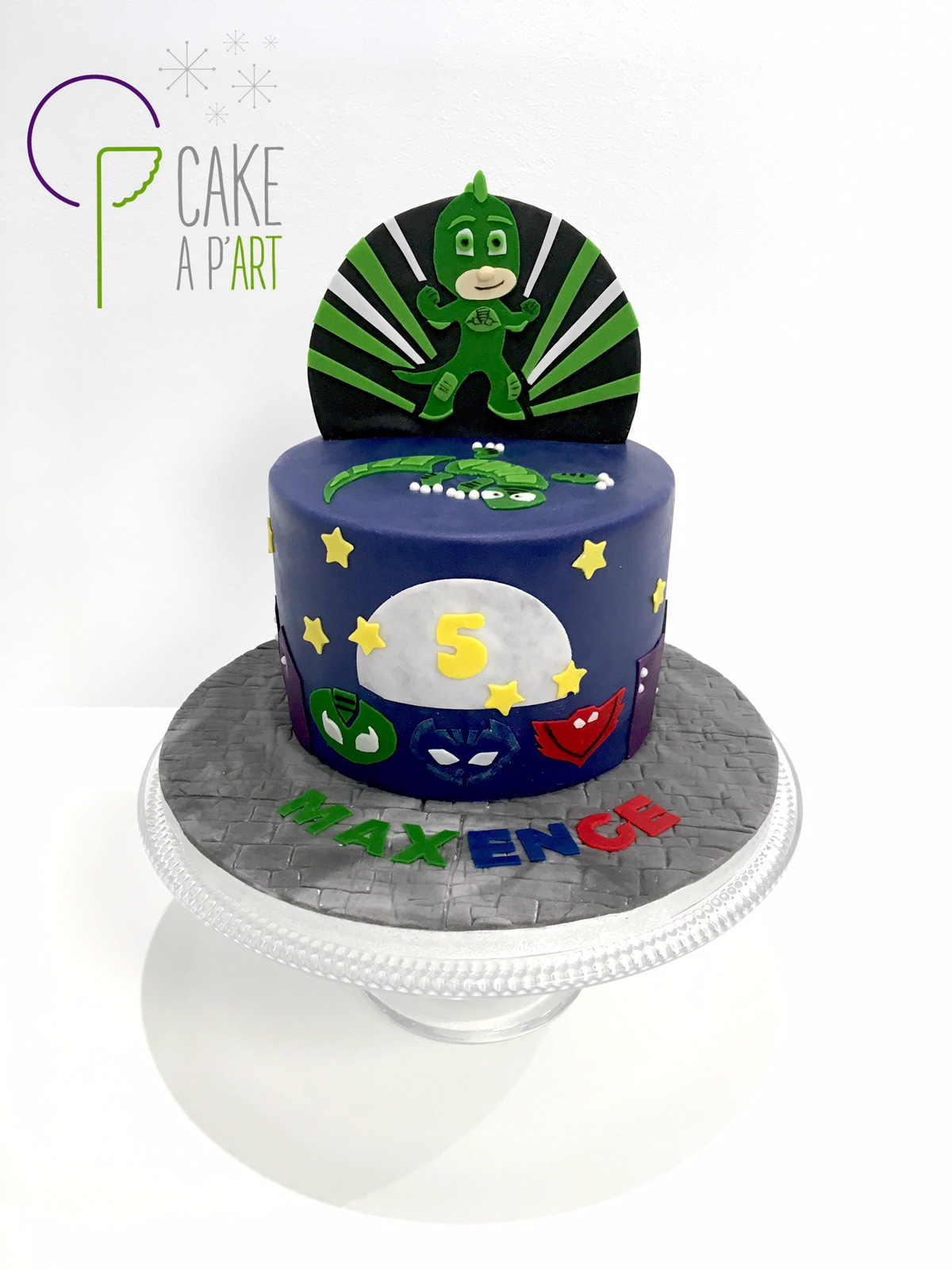 Gâteau Anniversaire Pjmask Cakeapart