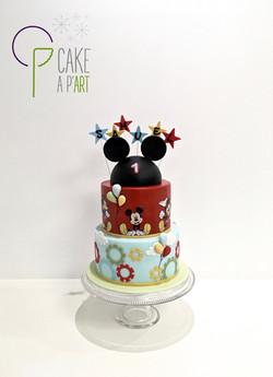 - Gâteau personnalisé anniversaire enfant - Thème Mickey