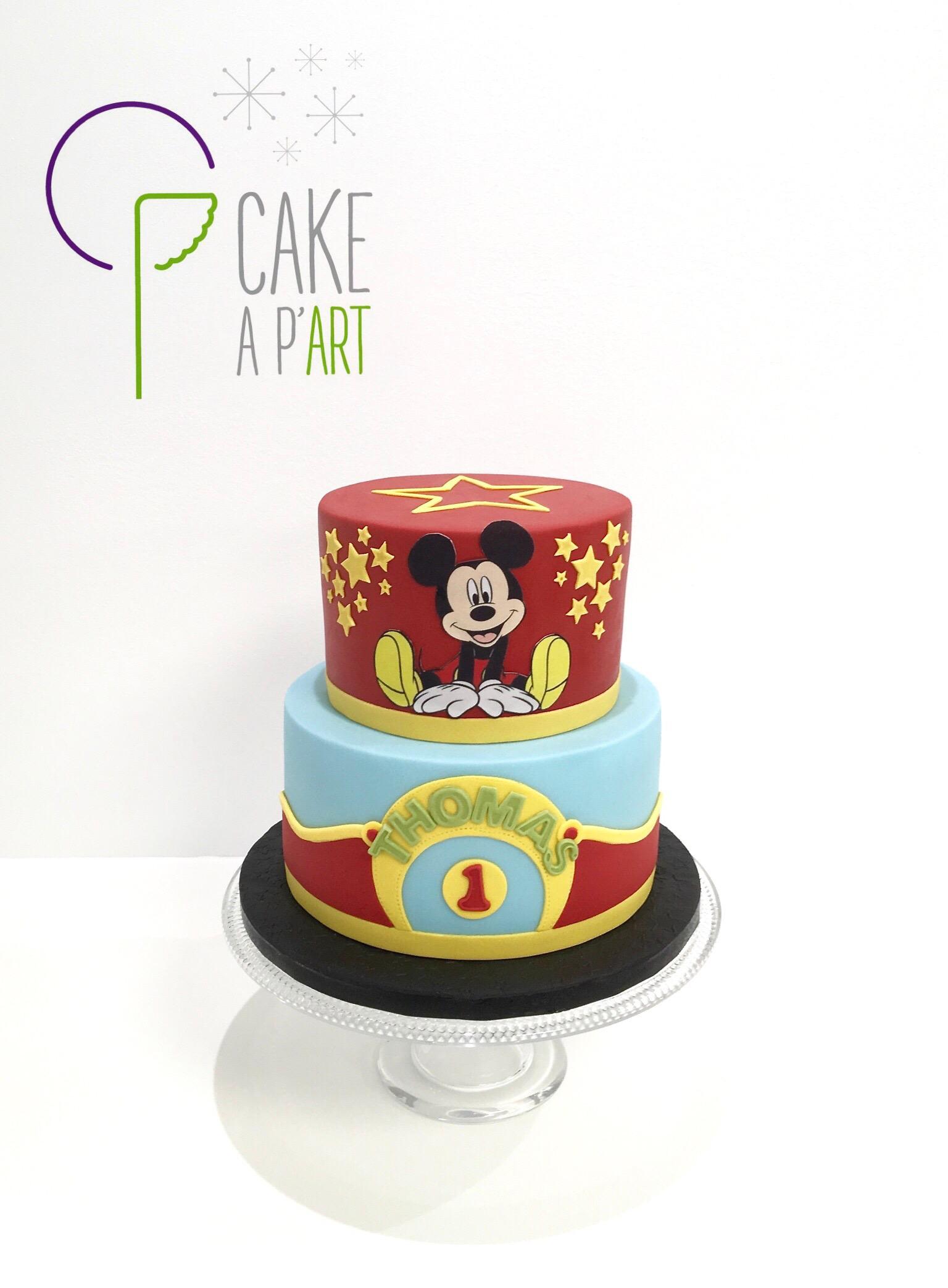Gâteau personnalisé anniversaire enfant - Thème Michey