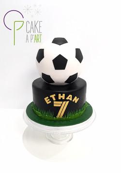 - Gâteau personnalisé anniversaire enfant - Thème Foot ballon