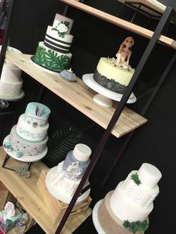 Salon du Mariage Perpignan 2018 - Stand CAKE A P'ART Wedding Cake
