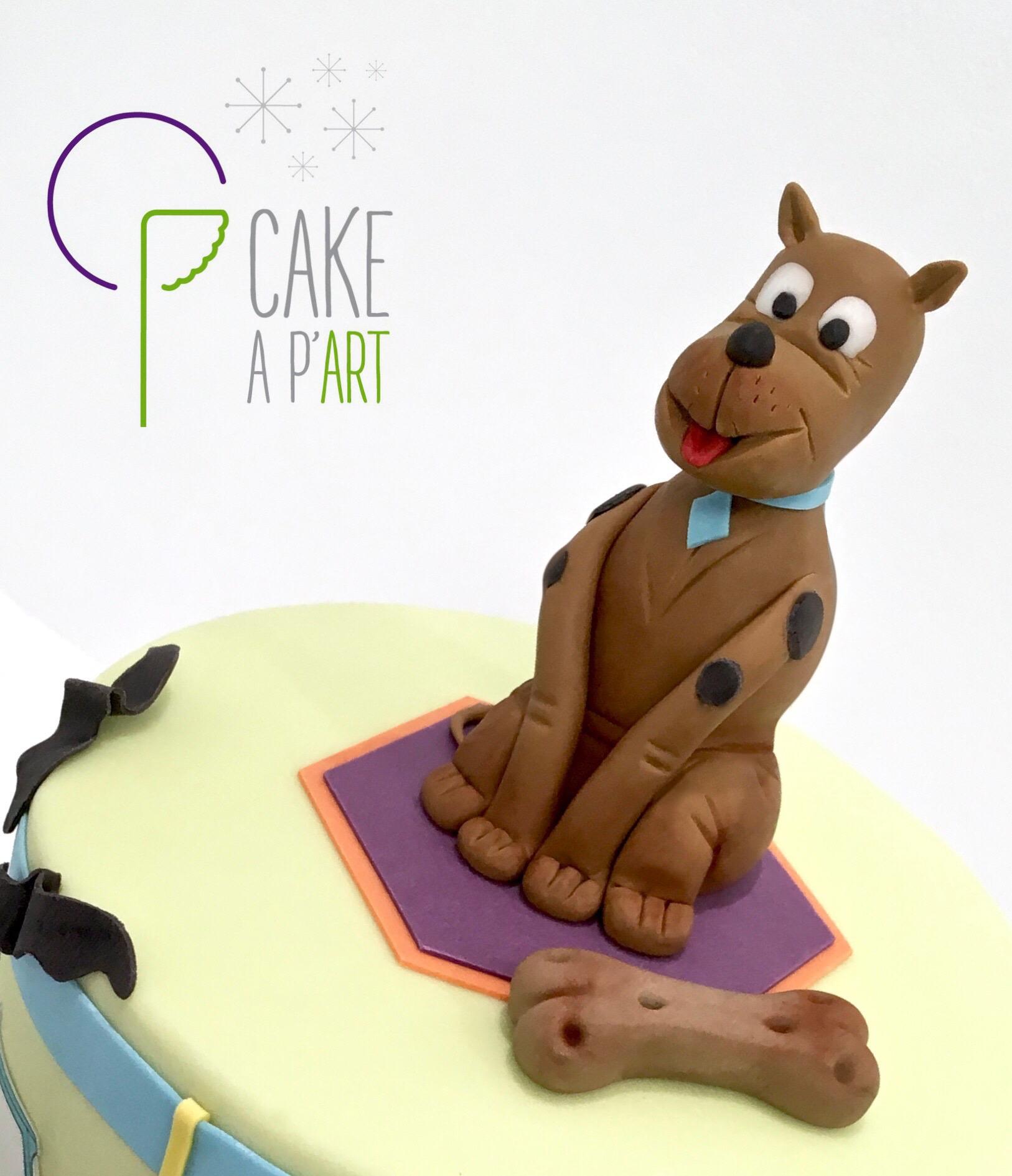 Décor modelage en sucre gâteaux personnalisés - Anniversaire Thème Scooby Doo