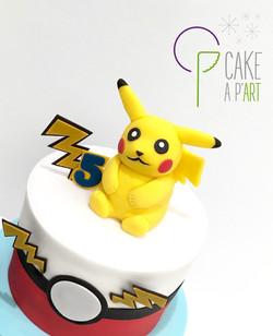 - Gâteau personnalisé anniversaire enfant - Thème Pikachu