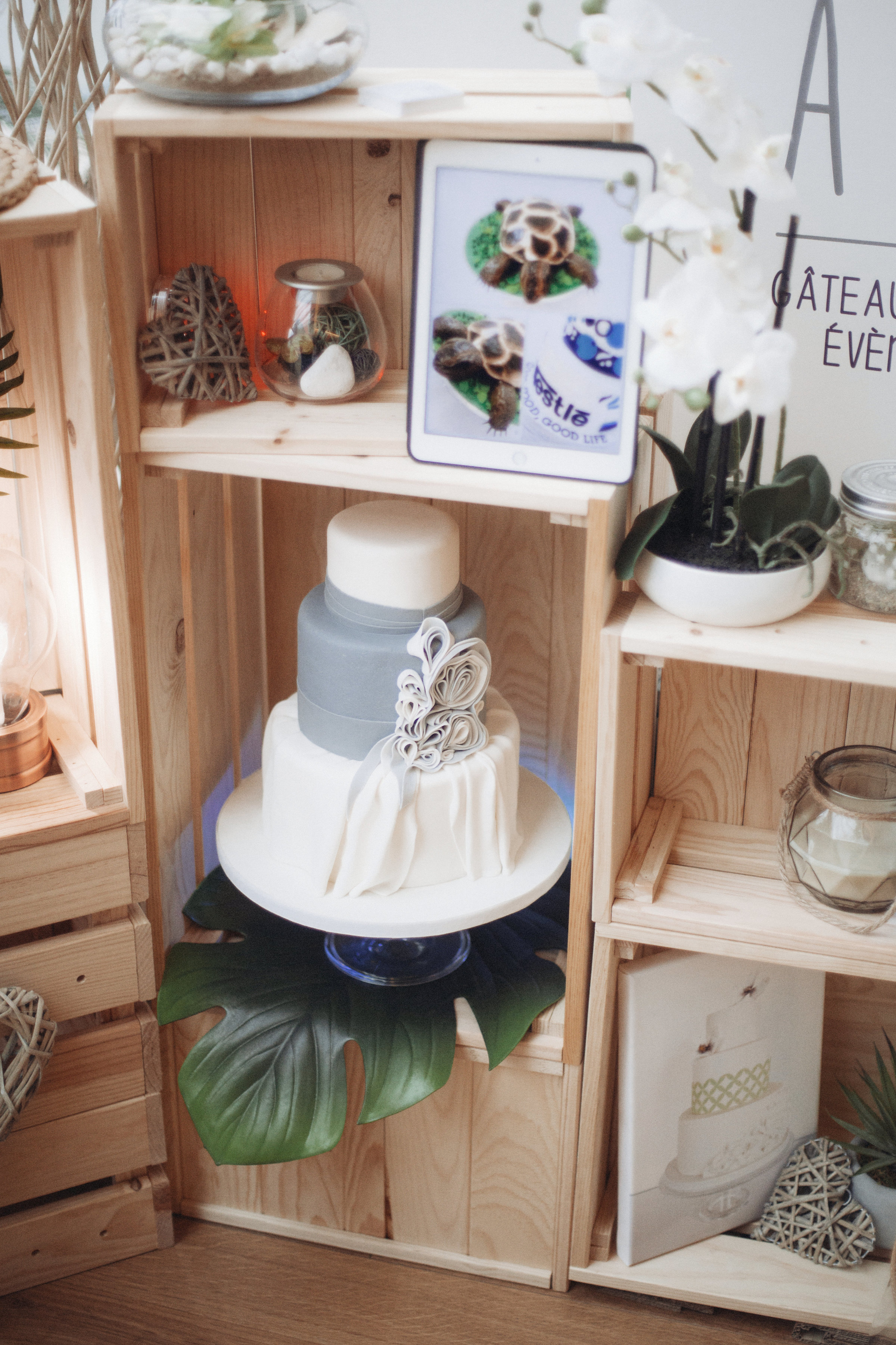 Salon du Mariage Thuir 2017 - Stand CAKE A P'ART Photo Olivier Quitard